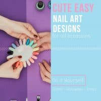 Easy and Cute Nail Art Design
