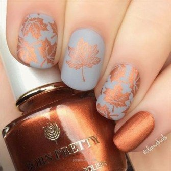 attractive nail polish ideas for fall