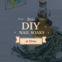 How to create your own DIY Nail Soak