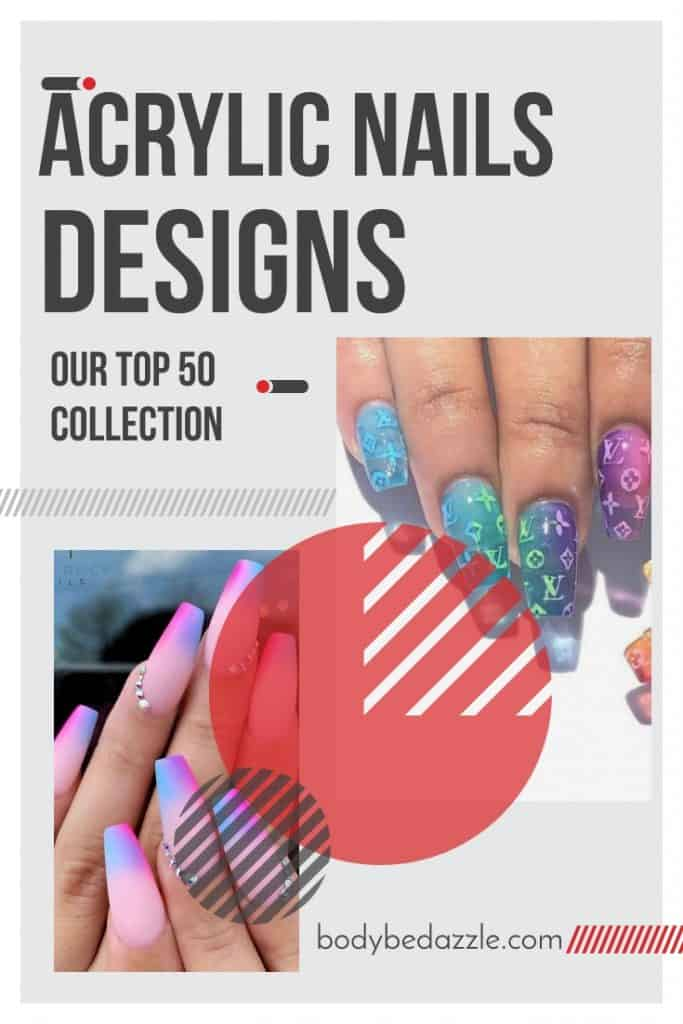 Acrylic Nails Designs Collection